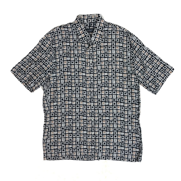 Haupt Other - Haupt Germany Medium Geometric Button Down Shirt